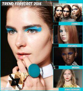 Blue Eye Shadow Trend 2016